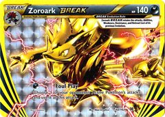 Zoroark-BREAK - 92/162 - Rare BREAK