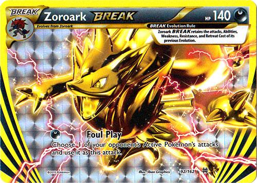 Zoroark-BREAK - 92/162 - Rare BREAK