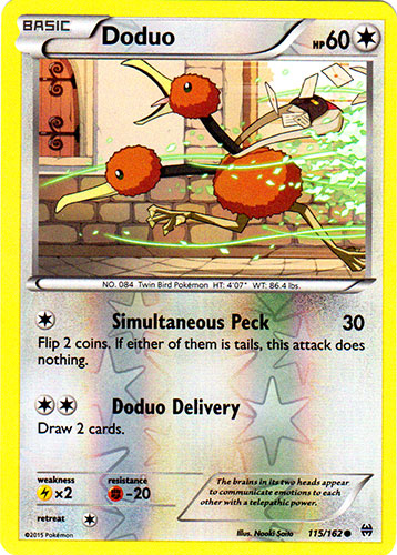 Flabebe 101//162 BREAKthrough Reverse Holo Mint Pokemon Card