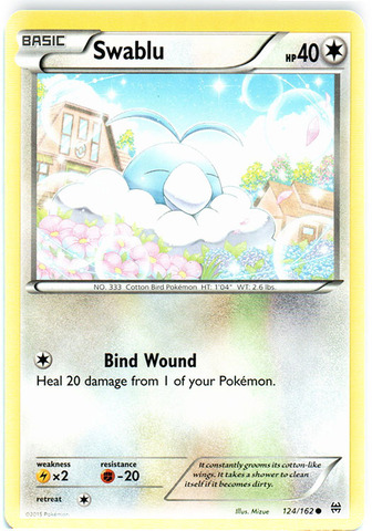 Magnemite Common Pokemon Card XY BREAKThrough 51//162