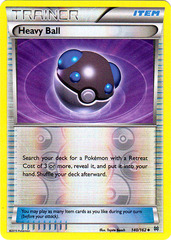 Heavy Ball - 140/162 - Uncommon - Reverse Holo