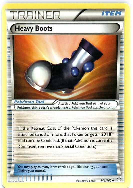 Heavy Boots - 141/162 - Uncommon