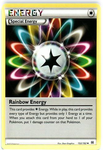 Rainbow Energy - 152/162 - Uncommon