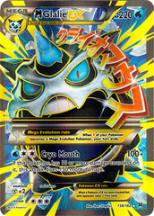 Mega Glalie EX 156/162 - Full Art Ultra Rare