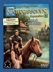 Carcassonne Exp 1: Inns & Cathedrals