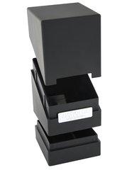 Monolith Deck Case 100+ Standard Size Black Card Game