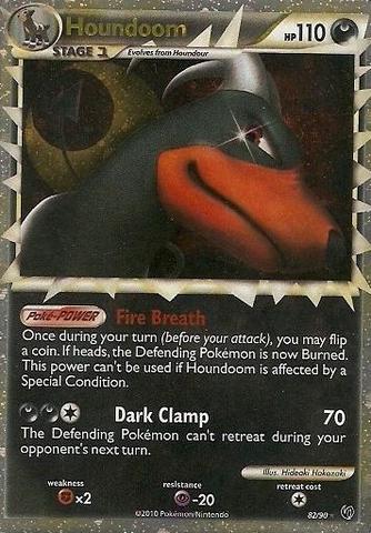 Houndoom Prime - 82/90 - Super Rare Holo