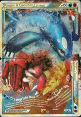 Kyogre & Groudon LEGEND (Both Halves) - 87+88/90 - Rare Holo Legend