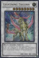 Lightning Tricorn - DREV-EN042 - Ultimate Rare - 1st Edition