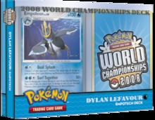 Pokemon 2008 World Championships Deck - Dylan Lefavour (Empotech)