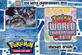 2010 World Championships Deck - Mychael Bryan Happy Luck Deck