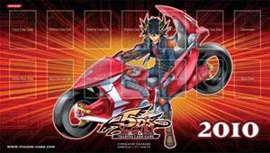 2010 Yu-Gi-Oh! 5Ds Playmat w/ Yusei