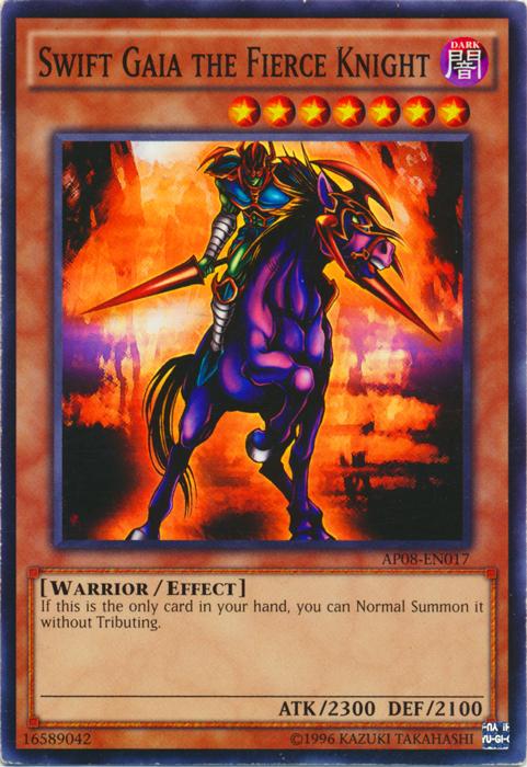 Swift Gaia the Fierce Knight - AP08-EN017 - Common - Unlimited Edition