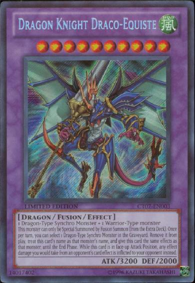 Dragon Knight Draco-Equiste - CT07-EN003 - Secret Rare - Limited Edition - Promo