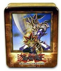 Yu-Gi-Oh 2003 Buster Blader Collectors Tin with 5 Packs and BPT 008 Card