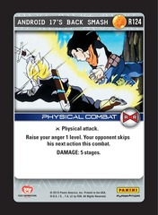 Android 17's Back Smash - Foil