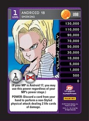 Android 18, Smirking - Foil