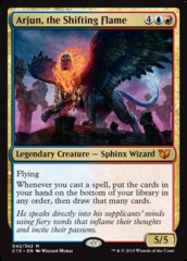 Arjun, the Shifting Flame on Channel Fireball