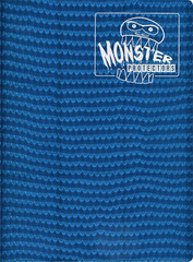 Monster Protectors 9 Pocket Holo Blue Binder