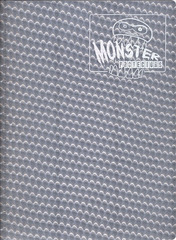 Monster Protectors 9 Pocket Holo Silver Binder