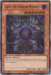 Caius the Shadow Monarch - TU03-EN000 - Ultimate Rare - Unlimited Edition