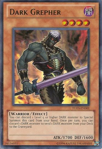 Dark Grepher - TU03-EN001 - Ultra Rare - Unlimited Edition