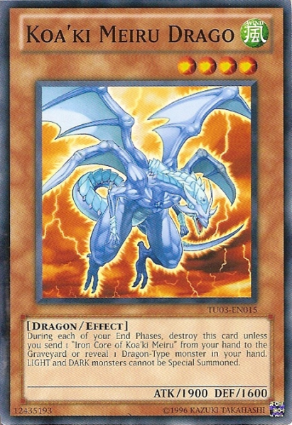 Koaki Meiru Drago - TU03-EN015 - Common - Unlimited Edition