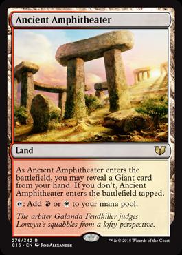 Ancient Amphitheater - Commander 2015