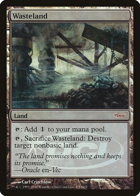 Wasteland - Foil DCI Judge Promo