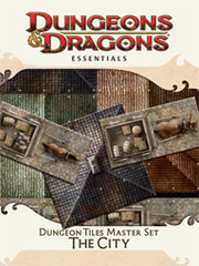 Dungeon Tiles Reincarnated Set: The City