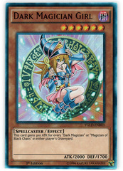 Dark Magician Girl - YGLD-ENB03 - Ultra Rare - 1st Edition on Channel Fireball