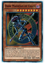 Dark Magician of Chaos - YGLD-ENC02 - Ultra Rare - 1st Edition on Channel Fireball