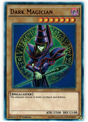 Dark Magician - YGLD-ENC09 - Ultra Rare - 1st Edition on Channel Fireball