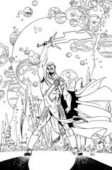 Martian Manhunter #8 Adult Coloring Book Var Ed