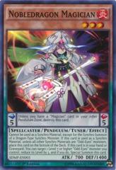 Nobledragon Magician - SDMP-EN003 - Super Rare - 1st Edition on Channel Fireball