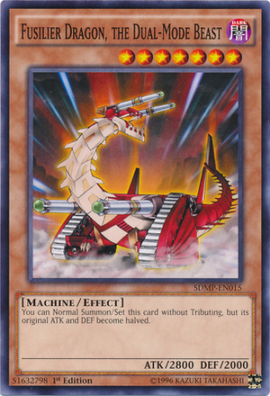 Fusilier Dragon, the Dual-Mode Beast - SDMP-EN015 - Common - 1st Edition