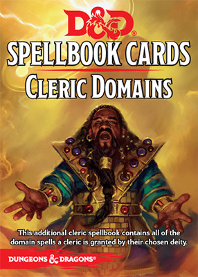 Dungeons and Dragons 5th Edition RPG: Spellbook Cards - Cleric Domains