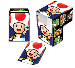 Ultra-Pro: Super Mario Toad Full-View Deck Box