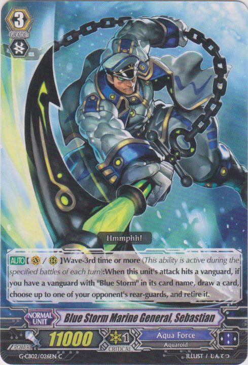 Blue Storm Marine General, Sebastian - G-CB02/026EN - C