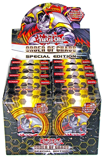 Yu-Gi-Oh Order of Chaos Special Edition Display Box