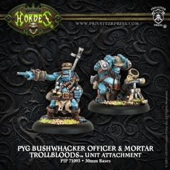 Pyg Bushwhacker Officer & Mortar PIP 71093