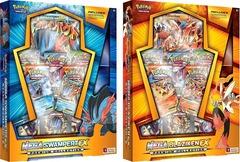 Mega Blaziken-EX Plus Mega Swampert-EX Boxes