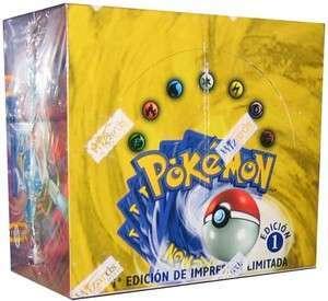 Base Set 1st Edition Booster Box (Spanish)