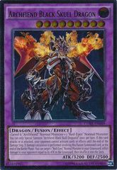 Archfiend Black Skull Dragon - CORE-EN048 - Ultimate Rare - Unlimited Edition