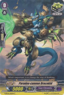 Paradox-cannon Dracokid - G-BT05/102EN - C