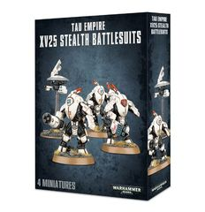 Tau Empire XV25 Stealth Battlesuits ( 56-14 )