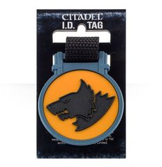 Citadel I.D. Tag - Space Wolves