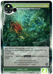 Holy Ground of the Four Sacred Beasts - TTW-060 - R - 1st Edition (Foil)