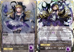 Girl in Twilight Garb // Dark Alice, Maiden of Slaughter - TTW-076 // TTW-076J - R - 1st Edition (Foil)