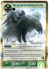Ziz, the Bird that Envelopes the Sky - TTW-072 - SR - 1st Edition (Foil)